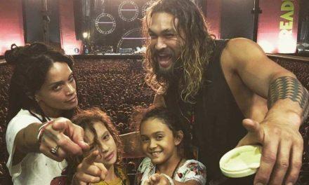 Дури и во карантин, Џејсон Момоа секојдневно тренира со своите деца